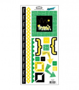 Moxxie Mix-Em Cardstock Stickers - Tennis