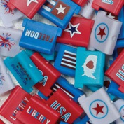 "Around The Block Clipper + 50 Reusable Clips "" Patriotic "" # 02013 Paper, Photo, & Scrapbooking Tools & Embellishments"