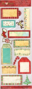 Holiday Joy Tags and Phrases Matteboard Stickers and Rub-ons for Scrapbooking