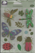 Max's Backyard Nature Dimensional Scrapbook Stickers