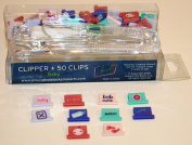"Around The Block Clipper + 50 Reusable Clips "" Baby "" # 02011 Paper, Photo, & Scrapbooking Tools & Embellishments"