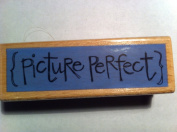 Picture Perfect Rubber Stamp