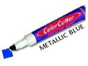 ColorCutter - Cut & Colour Finished Edges at the Same Time - Metallic Blue