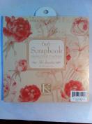 K & company 6x6 Scrapbook Designer Paper 36 Sheets