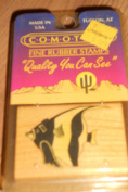 Comotion Fine Rubber Stamps Idol Fish # 0578