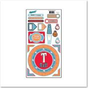 T-Ball Cardstock Scrapbook Stickers