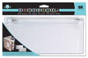 EK Success Rebecca Sower Bookworks Mat Boards & Pouches-White