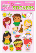 Island Yumi 3D Scrapbook Stickers