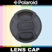 Polaroid Studio Series Snap Mount Lens Cap For The Panasonic Lumix DMC-G3, DMC-GF3, DMC-G1, DMC-GH1, DMC-GH2, DMC-GH3, DMC-L10, DMC-GF1, DMC-GF2, DMC-G10, DMC-G2, DMC-GF3, DMC-G3, DMC-GF5, DMC-G5, DMC-GF6, DMC-G6, DMC-GX7, DMC-GM1 Digital SLR Cameras W ..