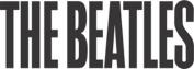 The Beatles 62 Upper Case Logo Rub-On Sticker