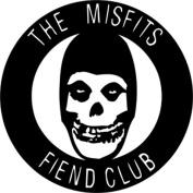 The Misfits Fiend Club Rub-On Sticker