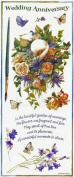 Marjolein Bastin Wedding Anniversary Stickers - 3 Large Sheets