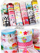 10x Mix Style DIY Diary Decorative Stickers Transparent Lace Tape Stationery NEW