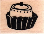Petite Bon Bon 1 Wood Mounted Rubber Stamp