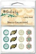Autumn Leaves Foof-A-La Epoxy Brads-Bella