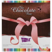Core'dinations Chocolate Box Cardstock Asst 30cm , by-30cm 20-Pack