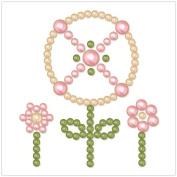 BasicGrey Opaline Designer Half Pearls, Windmill, Blush