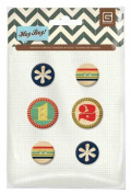 BasicGrey Hey Boy Collection Wooden Buttons