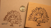 Turkey rubber stamp P21