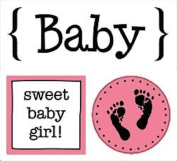 SRM Stickers Baby Girl Quick Cards