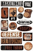 Epoxy Sticker Basketball #2