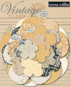 Teresa Collins Designs Vintage Finds Paper Flowers
