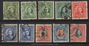 China Stamps - 1931-1937, Sc 297-306 Dr. Sun Yat-Sen Type II complete set, Used. by Great Wall Bookstore)