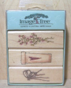 Image Tree Heartfelt Rubber Stamp Set
