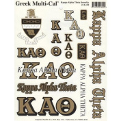 Kappa Alpha Theta Window Stickers