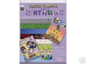 16 Adult Birthdays Papers Scrapbooking Scrapbook