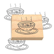 Ruth's Jewish Stamps Wood Mounted Rubber Stamp - Soup