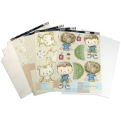 Kanban Crafts Patchwork Pals Luxury Card Making Kit