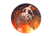 Fire Rider Decorative Sticker Decal