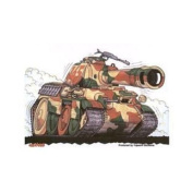 Panther Tank E Decorative Sticker Decal By Kool Art