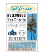 Southern California Epoxy Scrapbook Stickers