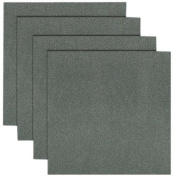 Forever In Time Glitter Scrapbook Paper, 15cm x 15cm Fantasy Shimmer Sheets, Charcoal, 4 Per Package