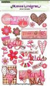 Grandma Epoxy Scrapbook Stickers