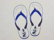 Creighton Bluejays Sandals Decal