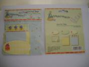 Birthday Party Journal Tags Die Cut & Embossed Journal Tags