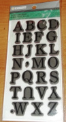 TPC Studio Rubber Cling Stamps - Uppercase Serif