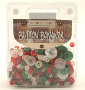 Buttons Galore Button Bonanza 240ml Christmas