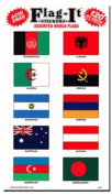 World Nations - Country Stickers