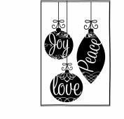 Joy Peace Love Ornaments