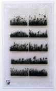 Meadow and Grass Borders Clear Stamps Set