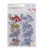Stampology Layered Clear Stamps - Jazzy Swirls