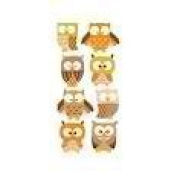 Sandylion Owls Essentials Sticker, Large