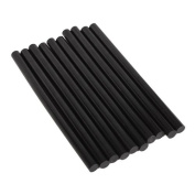 Generic Environmental Hot Melt Adhesive Glue Sticks Black 11mm x 198mm Pack Of 10