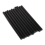Generic Environmental Hot Melt Adhesive Glue Sticks Black 11mm x 198mm Pack Of 10