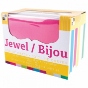 DCWV Box Of A2 Cards & Envelopes (11cm x 14cm )-Jewel Texture 40/Pkg