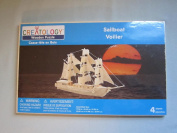 "Creatology Voilier "" Sailboat "" Wooden Puzzle - 4 Sheets"